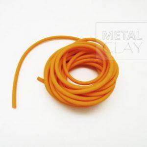 Linka kauczukowa pomarańczowa 3,2 mm