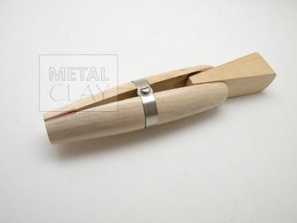Kluba drewniana z klinem