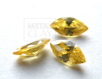 cyrkonia markiza gold 8x4mm