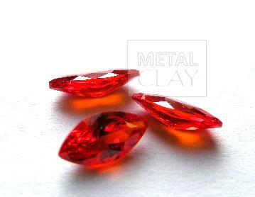 cyrkonia markiza orange 8x4mm