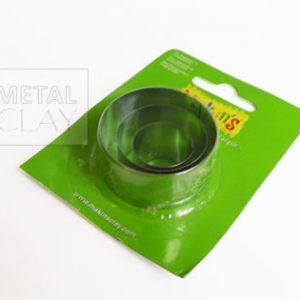 Metalowe foremki okrągłe