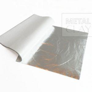 Folia metalowa w kolorze srebrnym