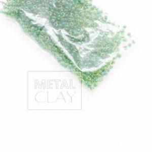 Koraliki Miyuki okrągłe zielone 2mm
