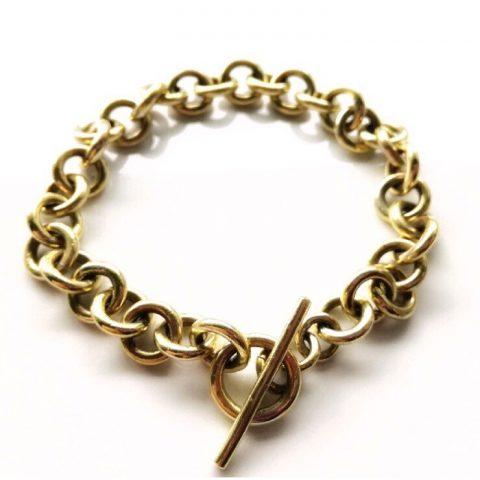 złota bransoletka zaprojektowana przezuczestnika kursu pro