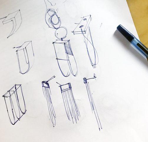 Szkicowanie - niezbędny etap przygotowawczy by projektować biżuterię