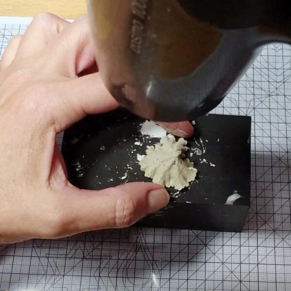 metal clay kurs online suszenie wyrobu