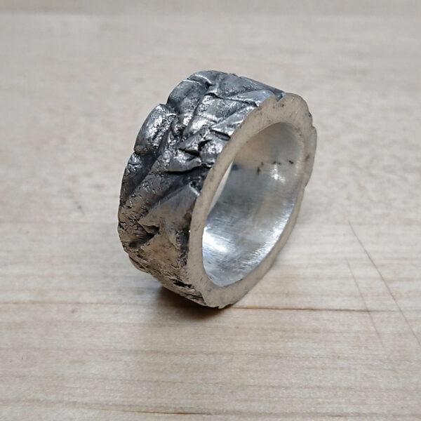 Metal clay nauka online jak wykonać pierścionek z fakturą