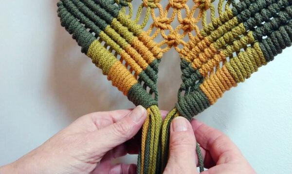 makrama kurs online to kompensium wiedzy na temat wiązania węzłów makramy