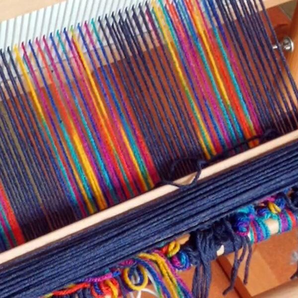 Krosno do tkania nici - użyjesz go poczas tkactwo kurs online