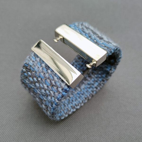 Tak będzie wyglądać bransoletka, którą wykonay na kursie tkanie kurs online