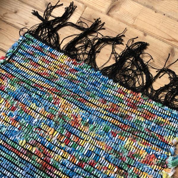 kurs tkania online - gotowy dywanik